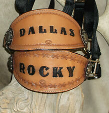Custom Bronc Halter, Your Horses Name, Your Simple Brand, Award. G&E Leather