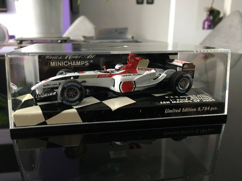 Minichamps 1 43 BAR Honda 006 San Marino GP 2004 J. Button