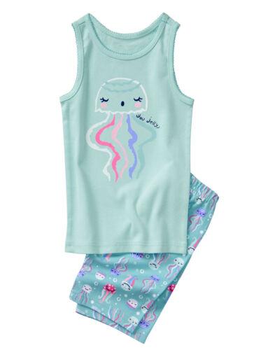 NWT Gymboree Jellyfish Jellies You Jelly Short Pajamas PJs Gymmies Girls