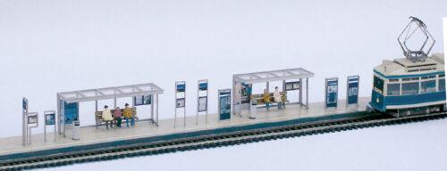 Tranvía modelo tram laser-kit paradas instalaciones maßst.1:87-h0