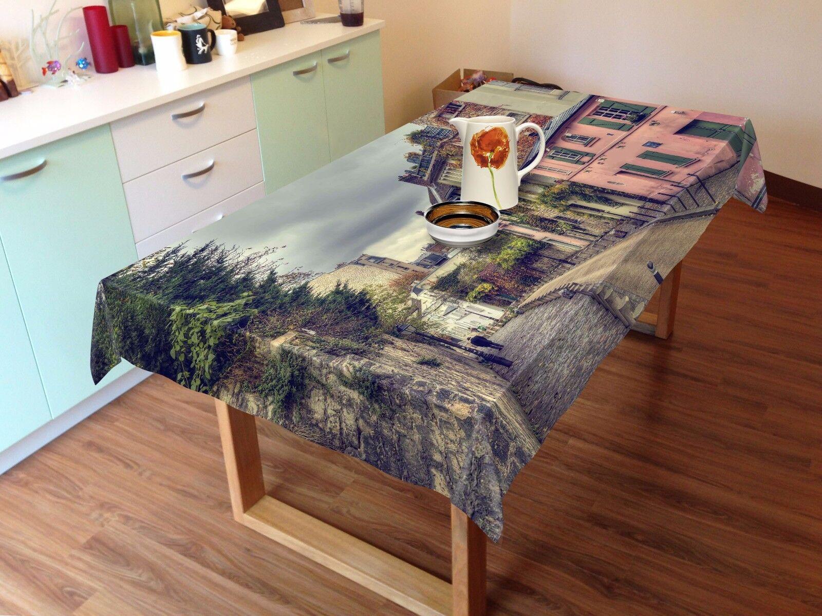 3D House 889 Nappe Table Cover Cloth Fête D'Anniversaire événement AJ papier peint UK