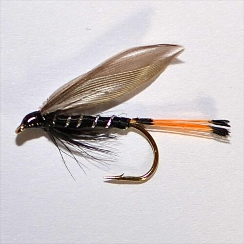 Blae /& Black Trout /& Grayling Wet Fly fishing flies by Dragonflies