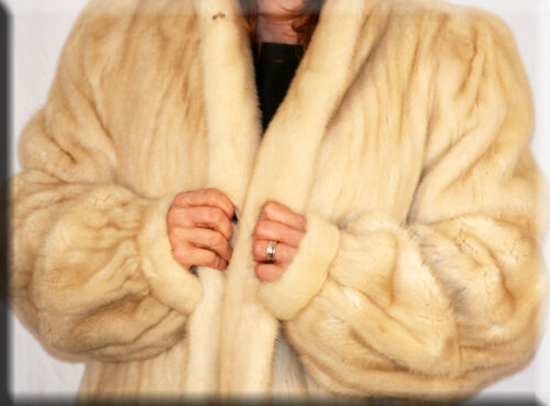 Size 12 L Azurene Fur Large Efurs4less 10 Coat Mink New xI0R4Cw