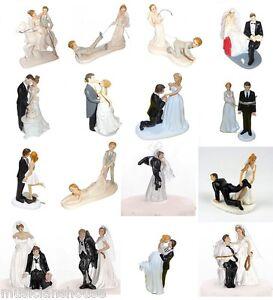 Details Sur Gateau De Mariage Toppers Decoration Bride Groom Cadeau Nouveaute Drole Fete Fun Afficher Le Titre D Origine