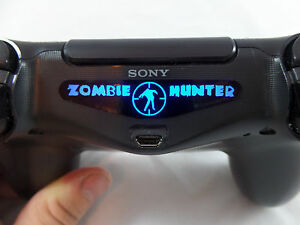 Playstation 4 ps4 dual shock controller zombie hunter light bar image is loading playstation 4 ps4 dual shock controller zombie hunter aloadofball Gallery