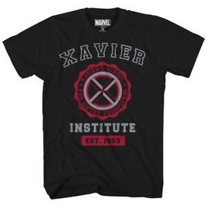 Marvel-Avengers-X-Men-Professor-Xavier-Institute-Tee-Adult-Mens-Graphic-T-Shirt