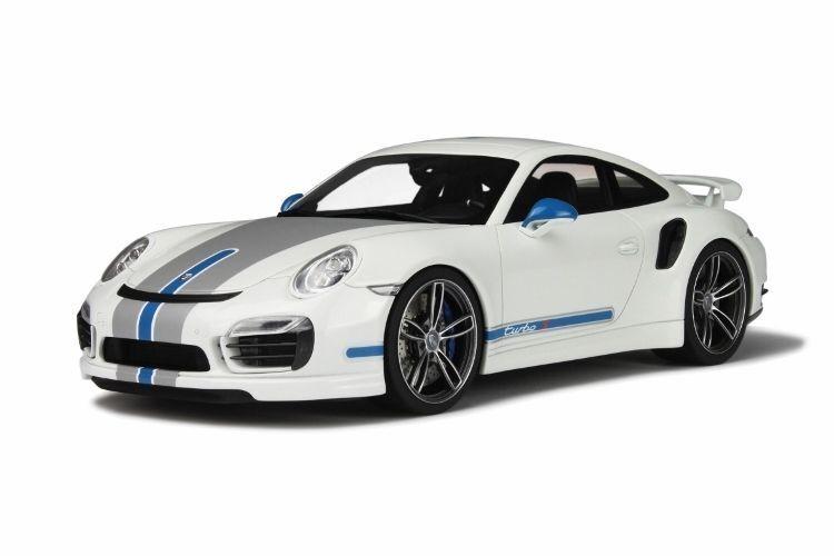 GT Spirit Porsche 911 991 Turbo S Techart bianca 1 18New Item