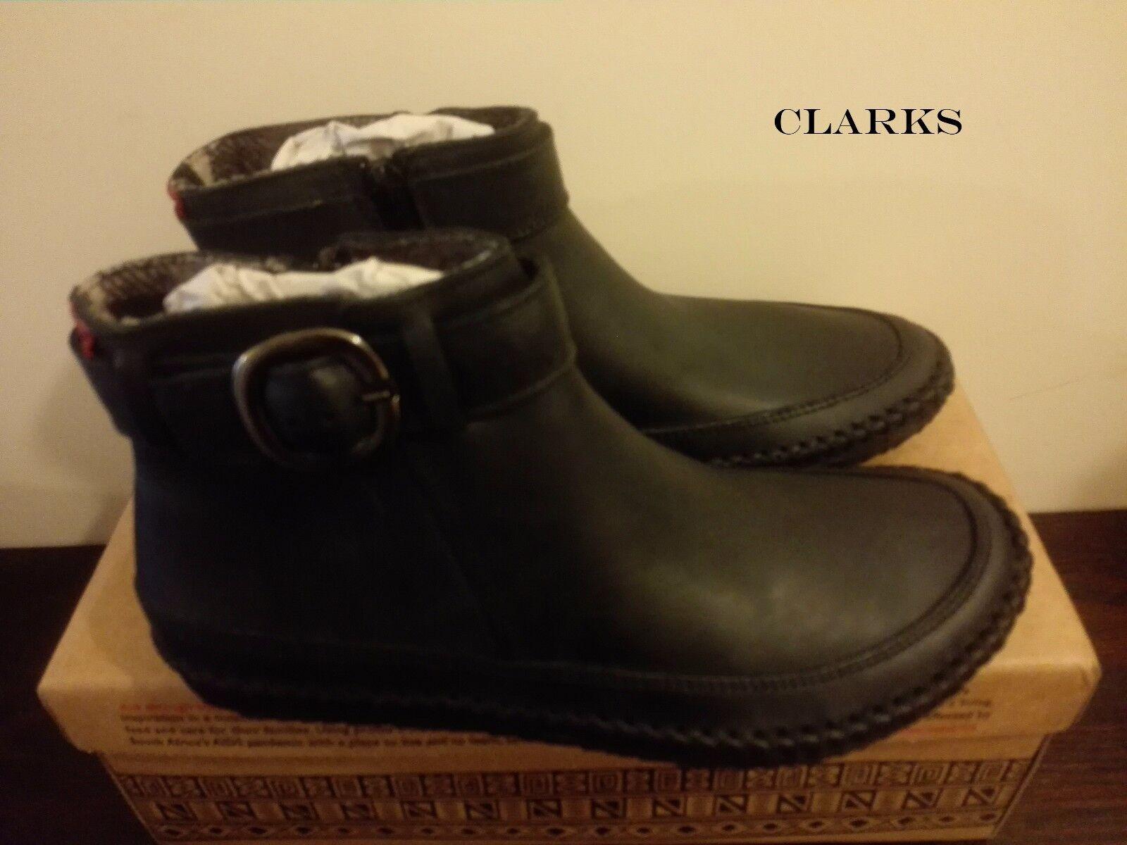 Clarks  PROFUMO africani in Pelle Nera  Donna Stivaletti   UE 37 RRP | Nuovi Prodotti  | Scolaro/Signora Scarpa