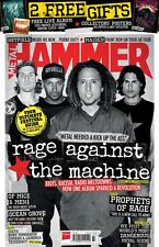 METAL HAMMER MAGAZINE + CD + POSTERS JULY 2017 (RAGE AGAINST THE MACHINE,) NEW