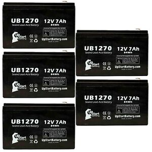 8 Pack Brand Product Mighty Max Battery 12V 7Ah Battery Replacement for Clary Corporation UPS1125K1G