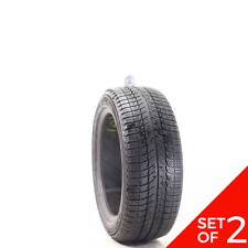 Set Of 2 Used 22550r17 Michelin X Ice Xi3 98h 65 832 Fits 22550r17
