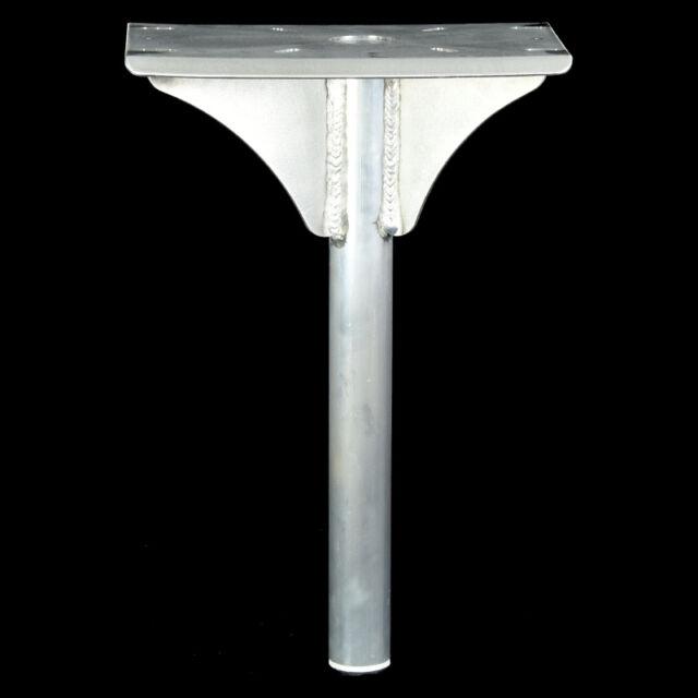 Boat Seat pedestal 50mm OD pipe - 700 High