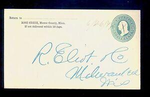 Unusual-1871-Rose-Creek-MN-Manuscript-cancel-on-Cover-Mower-County-MN819