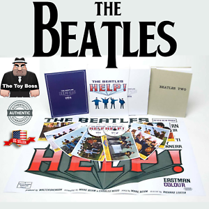 The Beatles HELP! Limited Edition Deluxe DVD Box Set 2-Disc 60pg Book & Poster