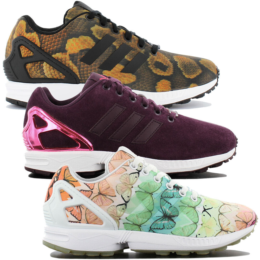 Adidas Originals ZX Flux W-Stylish Womens Sneaker Fashion shoes Sneakers