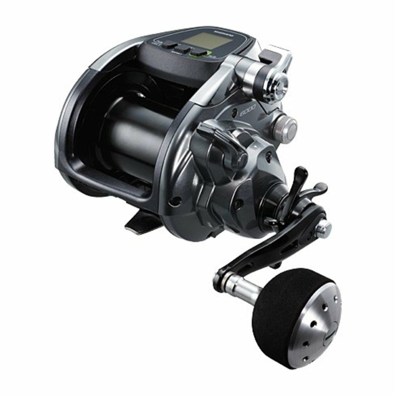Shimano fuerza de Agua Salada Carrete eléctrico Pesca Master 6000