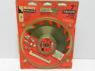 "Hickory Woodworking 7"" Adjustable Dado Blade"