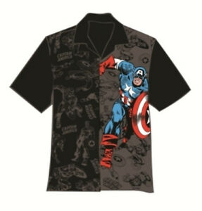 The-Captain-America-Super-Hero-Hawaiian-Camp-Shirt-Brand-New-CLEARANCE-SALE