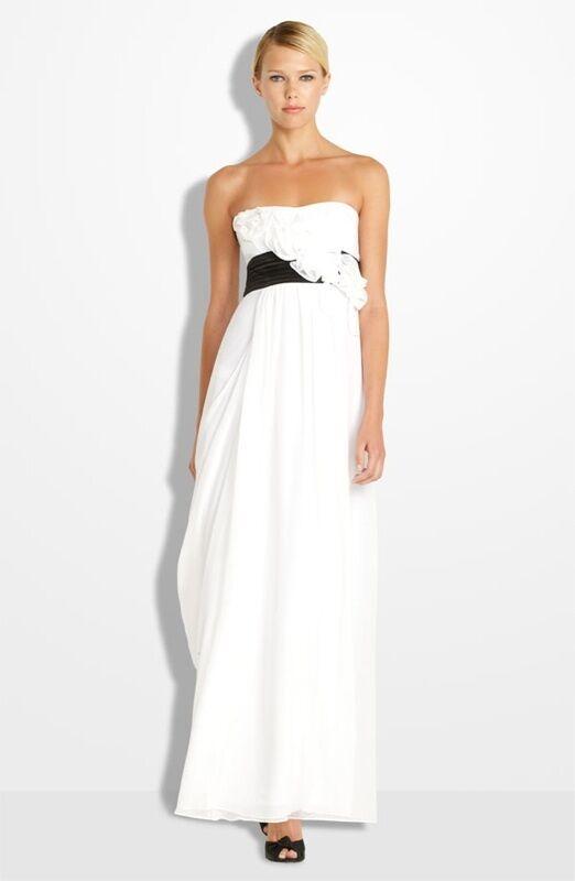 BCBG MAXAZRIA  Silk pinktte Gown  ( Size 8)