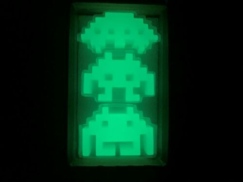 Bitten Space Invaders 3 Glow In The Dark Invaders