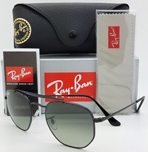 NEW Rayban Marshal sunglasses RB3648 002 71 Black Grey Gradient ... 1a45d82a99