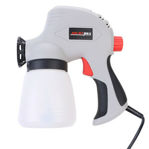 Airless Paint Sprayer Electric Painting Spray Cup Gun Interior Exterior 100w Ebay