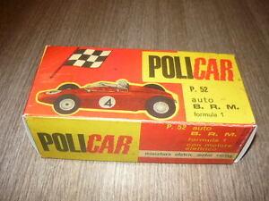 Adroit Policar Box Replica P52 Brm F1 Slot Car Pista Elettrica Scala 1/32 Haute SéCurité