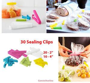 Ikea Bag Clip 30 Sealing Clips Bevara 2 Sizes Kitchen Food Storage