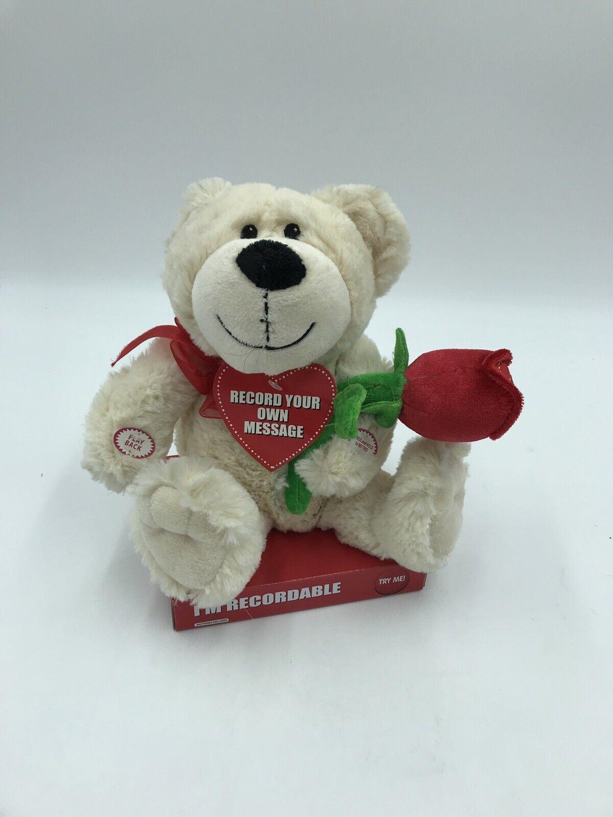 Recordable Teddy Bear Walmart, Dan Dee Singing Dog Jesus Loves Me Stuffed Cream Plush Soft Toy Light Up Star 8 For Sale Online Ebay