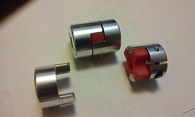 Wellenkupplung Flexkupplung 30x40 6mm Bohrung ETBX30x40-6mm 1//2 Kupplung