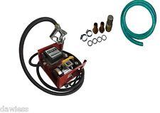 Dieselpumpe ZYD40L Zählwerk Heizölpumpe Tankstelle selbstsaugend Automaticpistol