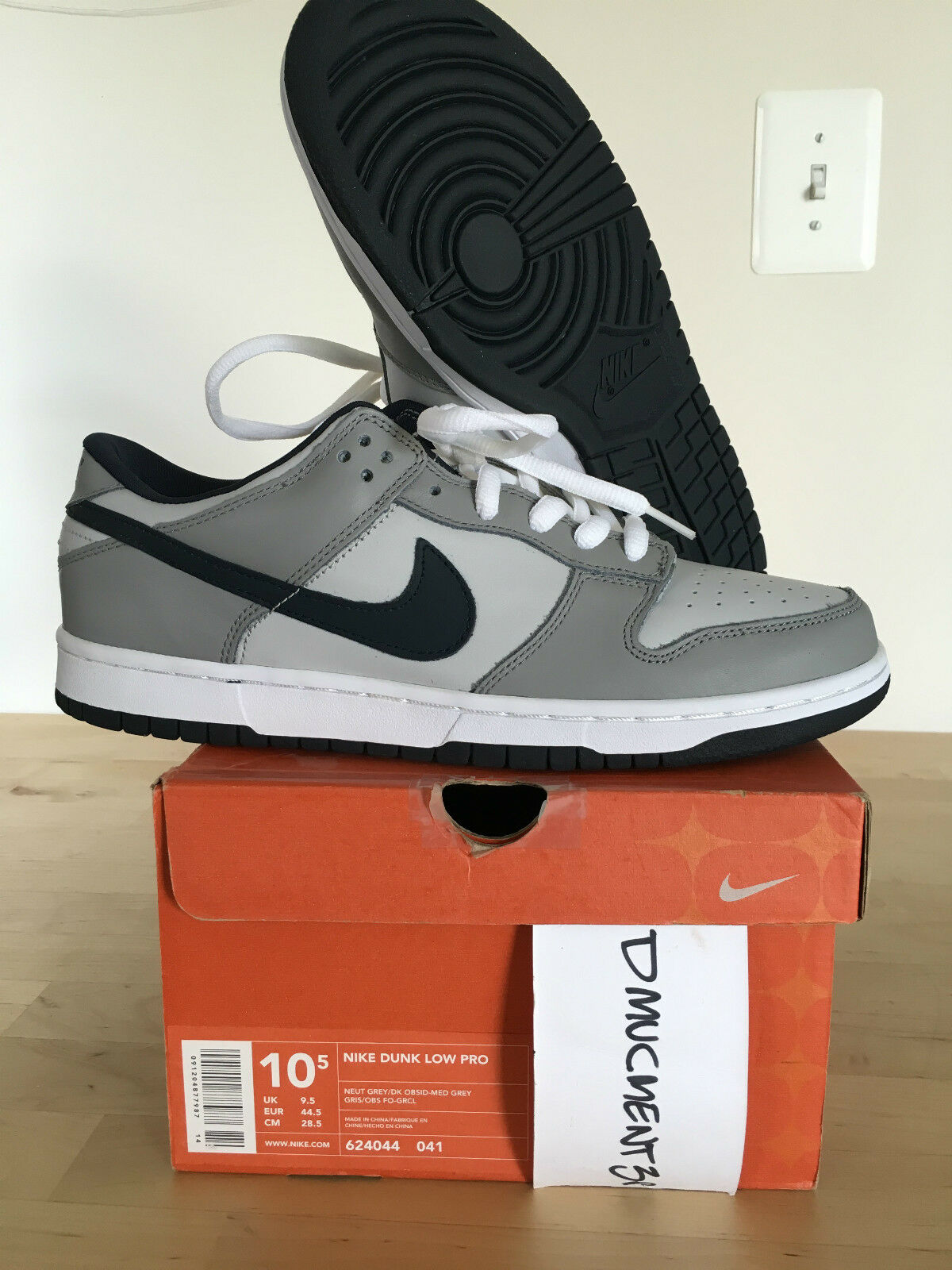 Nike Dunk Low Pro B Grey/Obsidian
