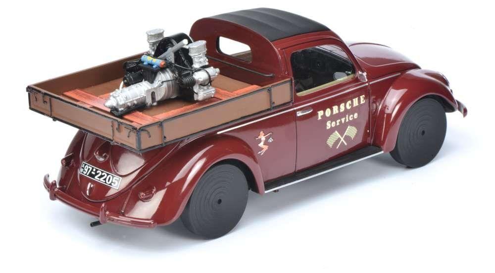 VW Beetle recoger  motor  Schuco