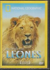 DVD - Paseando Con Leones NEW National Geographic FAST SHIPPING !