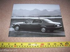 BMW 735i Large Photo from 1987-8 Press Pack CAR BROCHURE Details German Language