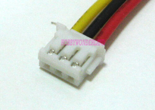 JST-ZH 1.5 3-Pin Female Housing Connector 15cm wire /& Male Vertical Header x 10