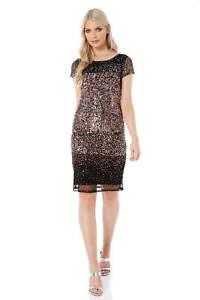 Roman-Originals-Women-Ombre-Sequin-Dress-in-size-10-20