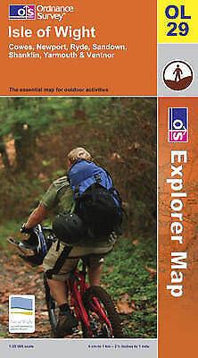 Isle of Wight (Explorer Maps), Ordnance Survey, Very Good Book