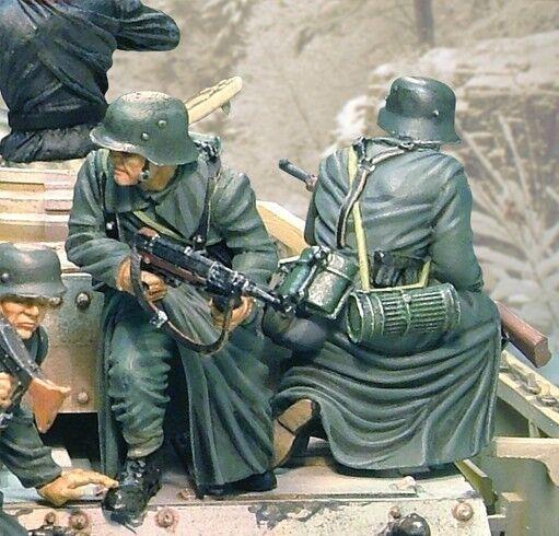 Die Sammler Schaufenster WW2 Deutsch Winter CS00437 WWII Panzerkampfwagen IV