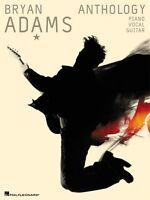Bryan Adams Anthology Sheet Music P V Piano Vocal Guitar Songbook Ne 000306422