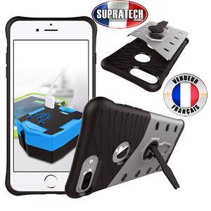 Coque-de-Protection-Argent-Rigide-Renforce-Anti-Choc-pour-Apple-iPhone-7-Plus