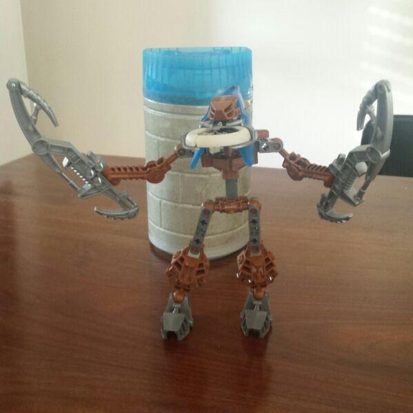 Appena Lego Bionicle Ruotante Con Scatola In Plastica I Cataloghi Saranno Inviati Su Richiesta