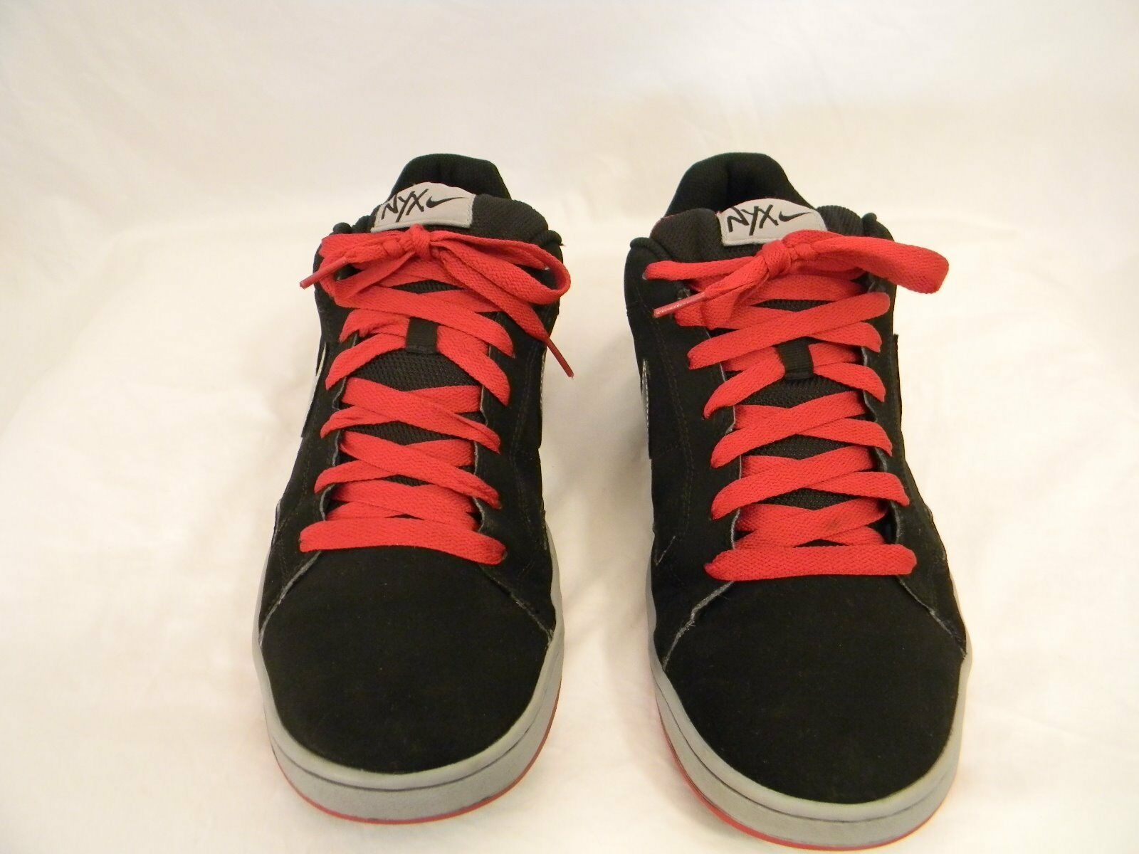 Nike NYX Dylan Black Red Silver Low Basketball Skater 2018 Production size 13