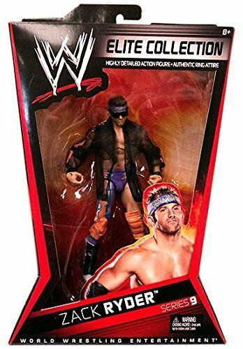 WWE Elite Collector Zach Ryder Figure Series  9