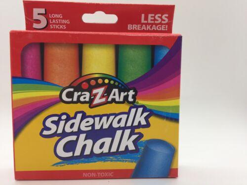 Cra-z-art Sidewalk Chalk 5 pieces