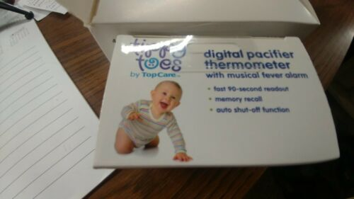 Tippy Toes Digital Pacifier Thermometer