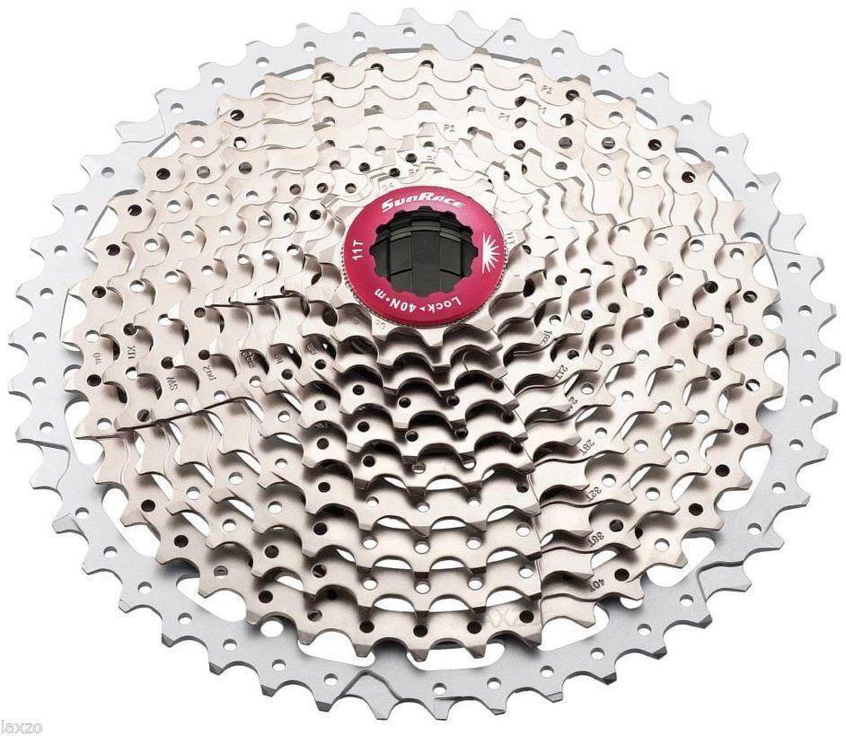 SunRace MX3 10-Speed 11-42T Bike Cassette