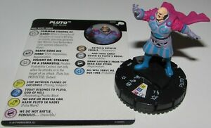 2019 DernièRe Conception Pluto 040 The Mighty Thor Marvel Heroclix Rare