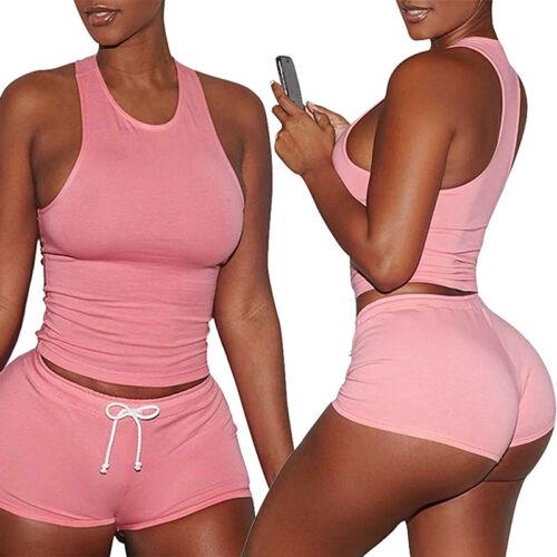 Women Casual Sleeveless Bodycon Romper Jumpsuit Club Tights Bodysuit Short Pants