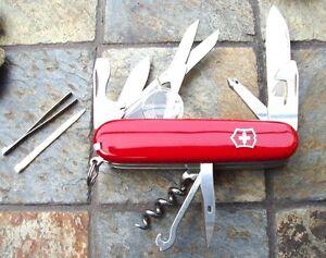 Victorinox Explorer Original Swiss Army Knife Red 53791